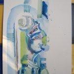 Bülowstraße Version 3 - Aquarell von Susanne Haun - 22 x 17 cm - Aquarell auf Bütten