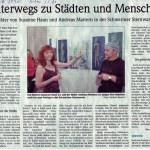 Zeitungsartikel von 2005 in der Schweriner Volkszeitung