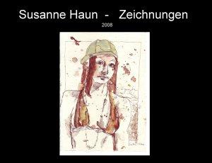 Die Druckvorlage des Kalenders von 2008 von Susanne Haun - Deckblatt