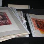 Ich entdecke eine ganze Kiste mit Linolschnitte von mir - Susanne Haun