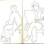 Ich skizziere gerne in der S-Bahn - Susanne Haun