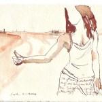 Die Druckvorlage des Kalenders von 2008 von Susanne Haun - April