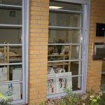 Das Schaufenster meines neuen Ateliers - Foto von Susanne Haun