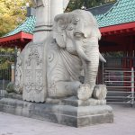 Eingang Berliner Zoo Elefanten Tor - Foto von Susanne Haun