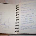 Meine Notizen zum Freiburger Literaturgespräch - Foto von Susanne Haun