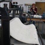 Die Radierwerkstatt ist sehr groß und beeindruckend - Susanne Haun