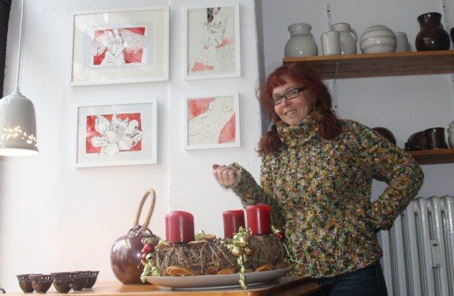 Hängen bei Armenat Keramik - Susanne Haun