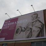 """Ausstellungsankündigung """"Aus Rembrandts Zeit"""" - Foto von Susanne Haun"""