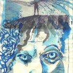Otto Lilienthal - Blatt 3 - Zeichnung von Susanne Haun - 20 x 30 cm - Tusche auf Bütten