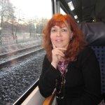 Susanne Haun auf den Weg nach Rostock - Foto von Cordula Kerlikowski