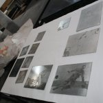 Auflagen drucken (c) Foto von Radierungen von Susanne Haun