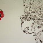 Das innere der Blume (c) Zeichnung von Susanne Haun