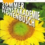 Prospekt 24. Sommerakademie Hohenbusch (c) 24. Sommerakademie Hohenbusch