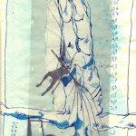 41. Lilienthal - Der FLug (c) Zeichnung Susanne Haun