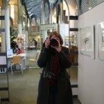 Christiane Weidner in der Humboldt Bibliothek (c) Foto von Susanne Haun