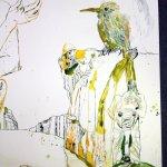 Ausschnitt Berg Eldorado (c) Zeichnung von Susanne Haun