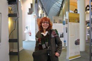 Susanne Haun in der Humboldt Bibliothek (c) Foto von Christiane Weidner