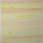 Streifen 15 x 15 cm Tusche auf Bütten (c) Zeichnung von Susanne Haun