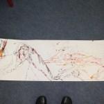 Übersicht zweite Rolle (c) Zeichnung von Susanne Haun