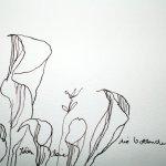 Ergötzliche Blüten (c) Zeichnung von Susanne Haun