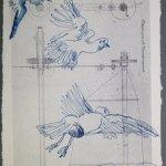 Der Traum vom Fliegen, Blatt 50 (c) Zeichnung von Susanne Haun
