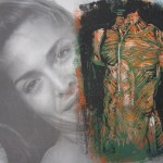 2000 Männertorso 15 x 20 cm Linolschnitt (c) Susanne Haun