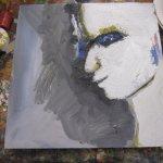 Acryl deckt (c) Gesicht von Susanne Haun