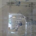 Hängen in der Humbold Bibliothek (c) Fotos von Frank Koebsch