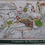Karte von Portico di Romagna (c) Foto von Susanne Haun