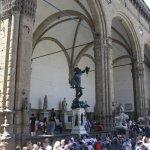 Loggia dei Lanzi Florenz (c) Foto von Susanne Haun