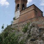Uhrturm des mittelalterlichen Städchens Brisighella (c) Foto von Susanne Haun