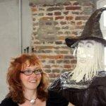In Elkes Atelier Samstag Nachmittag nach getaner Woche (c) Foto von Elke Bürger