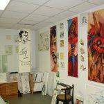 Wie habe ich 2005 gemalt (c) Atelier und Arbeiten von Susanne Haun