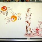 Das Paradies - so oder so (c) Zeichnung von Susanne Haun