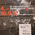 Berlin liest 12. Literaturfestival Berlin