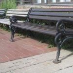 Stühle auf der Hannoverschen Straße