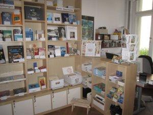 Im Museumshop können meine Arbeiten erworben werden (c) Foto von Susanne Haun