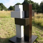 Skulptur von Dieter Heinzel (c) Foto von Susanne Haun