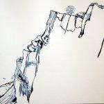 Entstehung Kreisdefelsen (c) Zeichnung von Susanne Haun