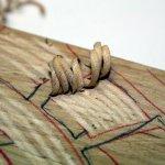 Die Späne sind schon ein Kunstwerk an sich (c) Foto von Susanne Haun