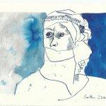 Blatt 21 Die alexandrinischen Kaufleute (c) Zeichnung von Susanne Haun