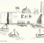 Blatt 24 Auf dem Kanopus Version 2 (c) Zeichnung von Susanne Haun