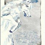 Blatt 26 Einer ist geblieben (c) Zeichnung von Susanne Haun