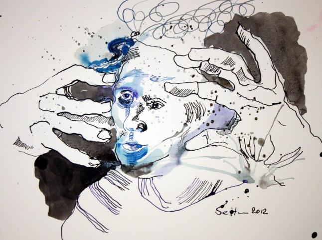 HaunMein Sinnbild Luthers heute (c) Zeichnung von Susanne Haun
