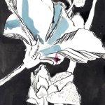 Rückblick Blumen 2012 (c) Zeichnung von Susanne Haun