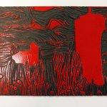 Zweite, rote Platte (c) Foto von Susanne Haun