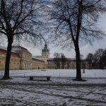 Die Vorderfront des Schlosses (c) Foto von Susanne Haun