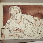 28 Du hast mir gefehlt (c) Zeichnung von Susanne Haun
