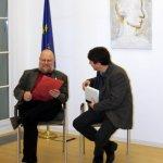 Der Dichter und sein Übersetzer (c) Foto von Susanne Haun