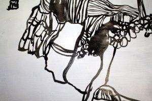Detail - Am Rande der Klippen (c) Leinwand von Susanne Haun